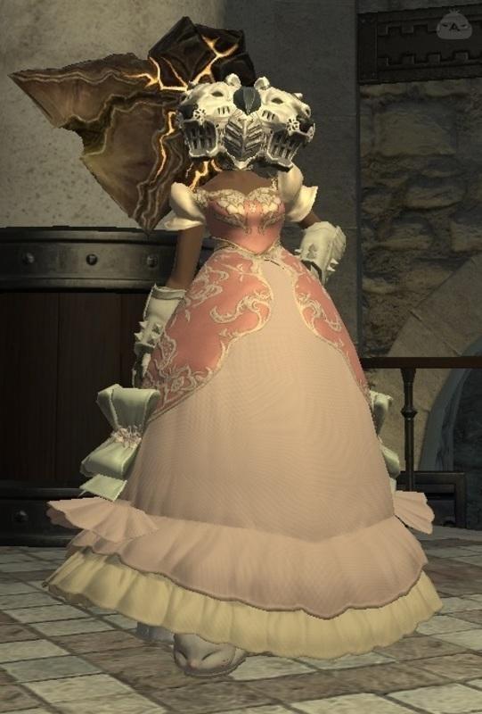 お姫さま戦士(兜もドレスも着せたかった3)