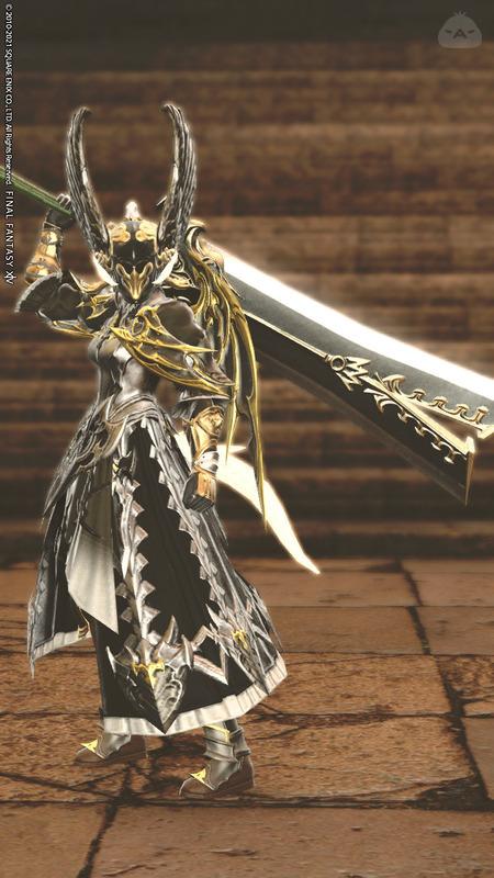 全身鎧暗黒騎士