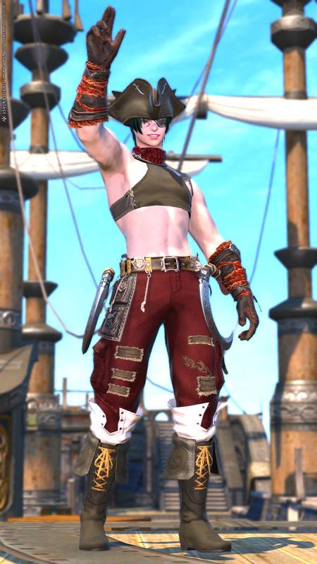 海賊団の若頭