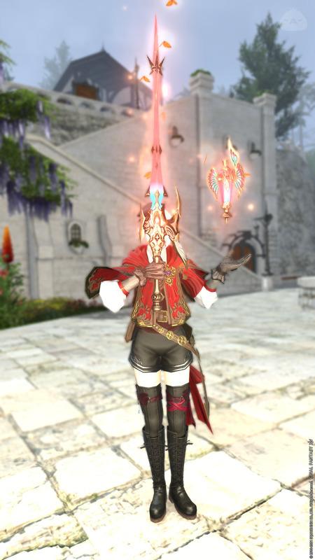 赤い魔道士