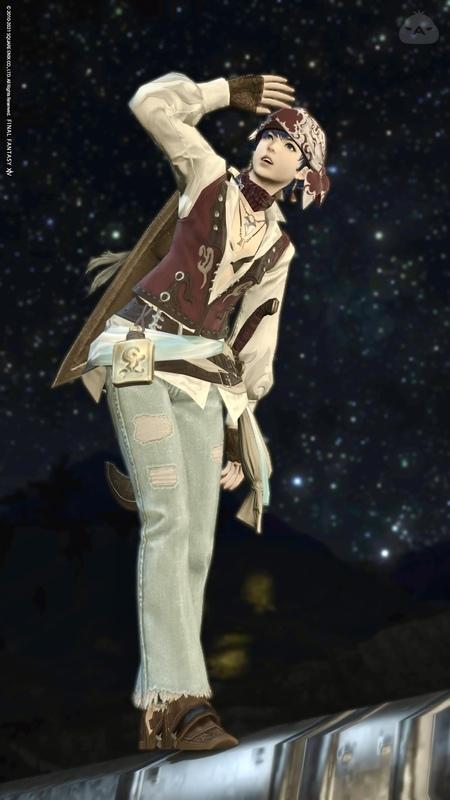 【今週のナイト】現代服風海賊コス
