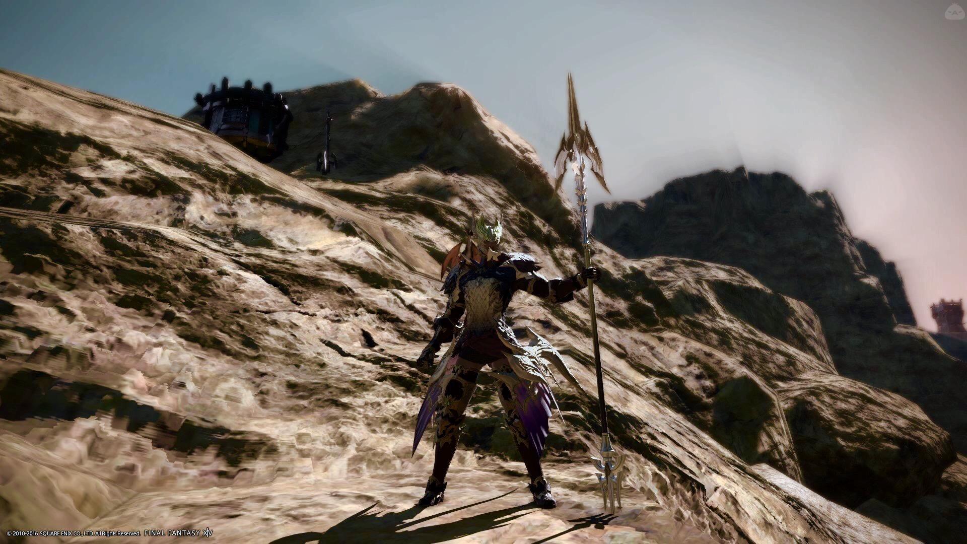 砂塵の龍騎