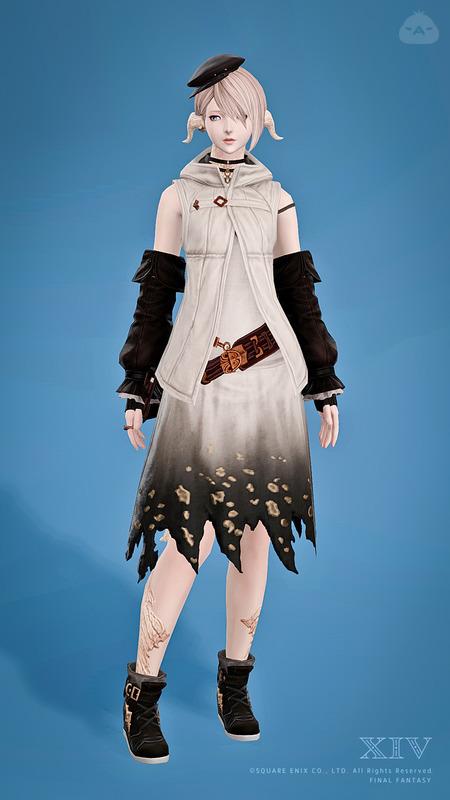 お嬢様のストリートファッション