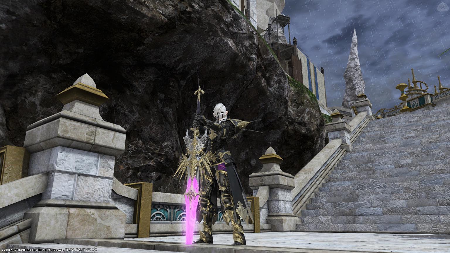 エレ♀暗黒騎士
