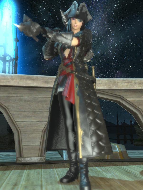 海賊風戦士