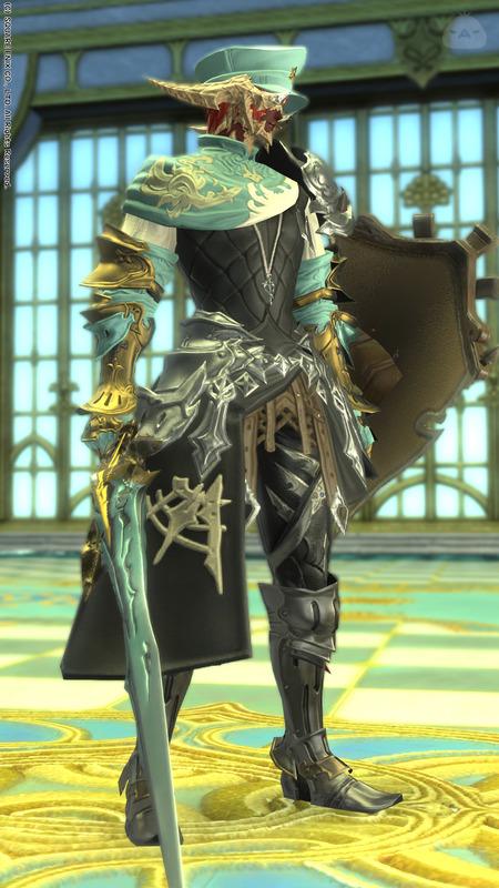 セレストグリーンの騎士