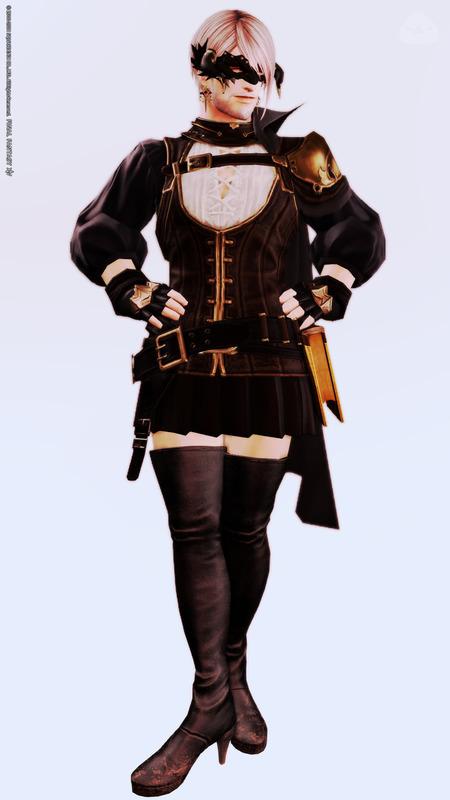 ネオイシュスチパン風スカート服