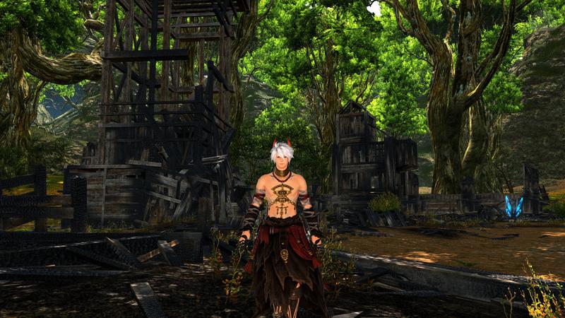 森の中のダンサー
