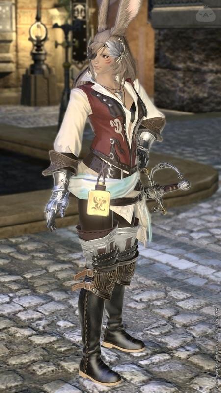 旅装の剣士