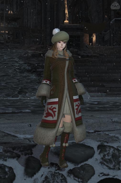 女子力高め冬コーデ