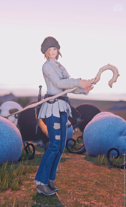 羊飼いの杖