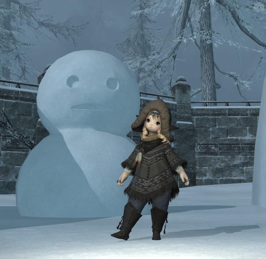 ぽんちょ冬コーデ