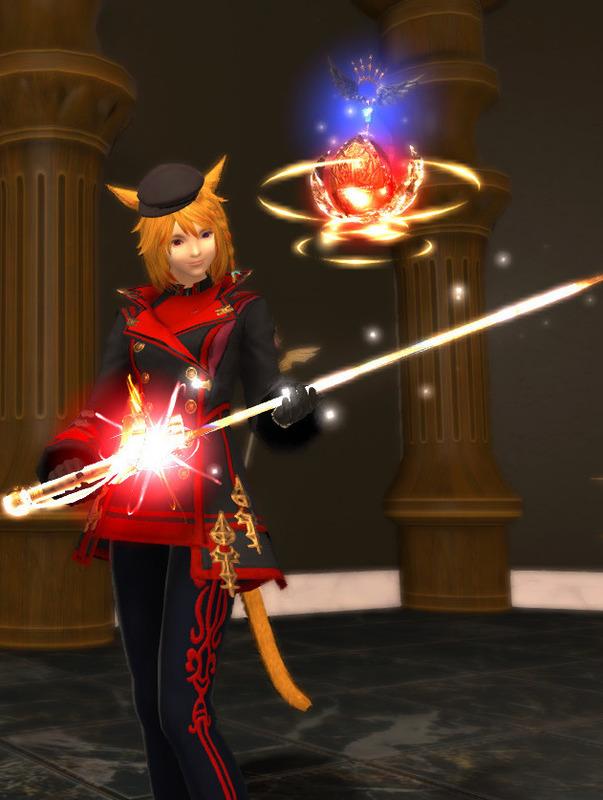 黒渦団所属の魔法剣士
