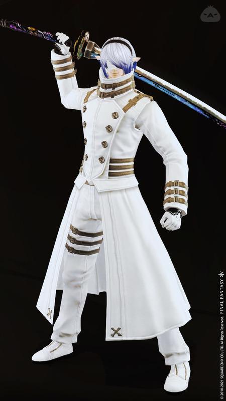 白い暗黒騎士