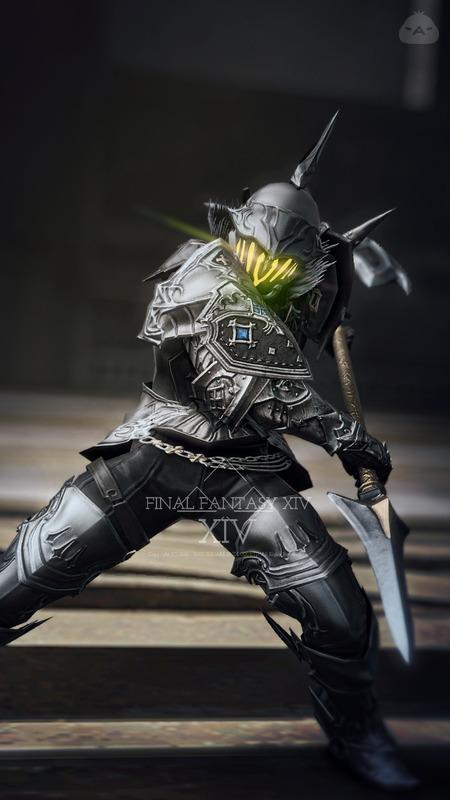 黒金の斧槍