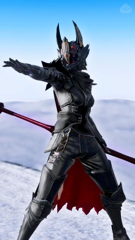 黒狼の槍術士