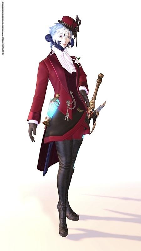 赤魔道士の礼装