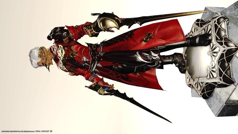 赤い双剣のアーチャー風