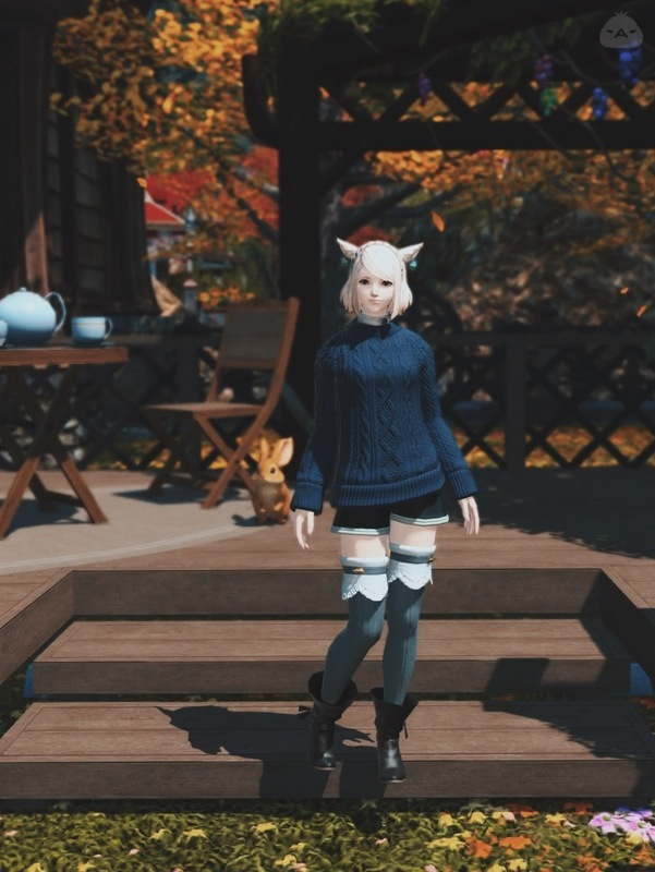秋の普段着