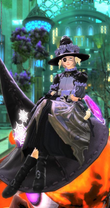 紫薔薇の魔女