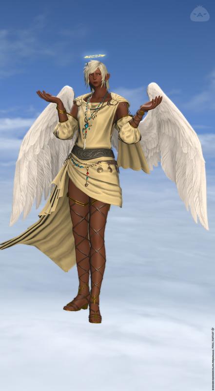 アクトレイザー天使風