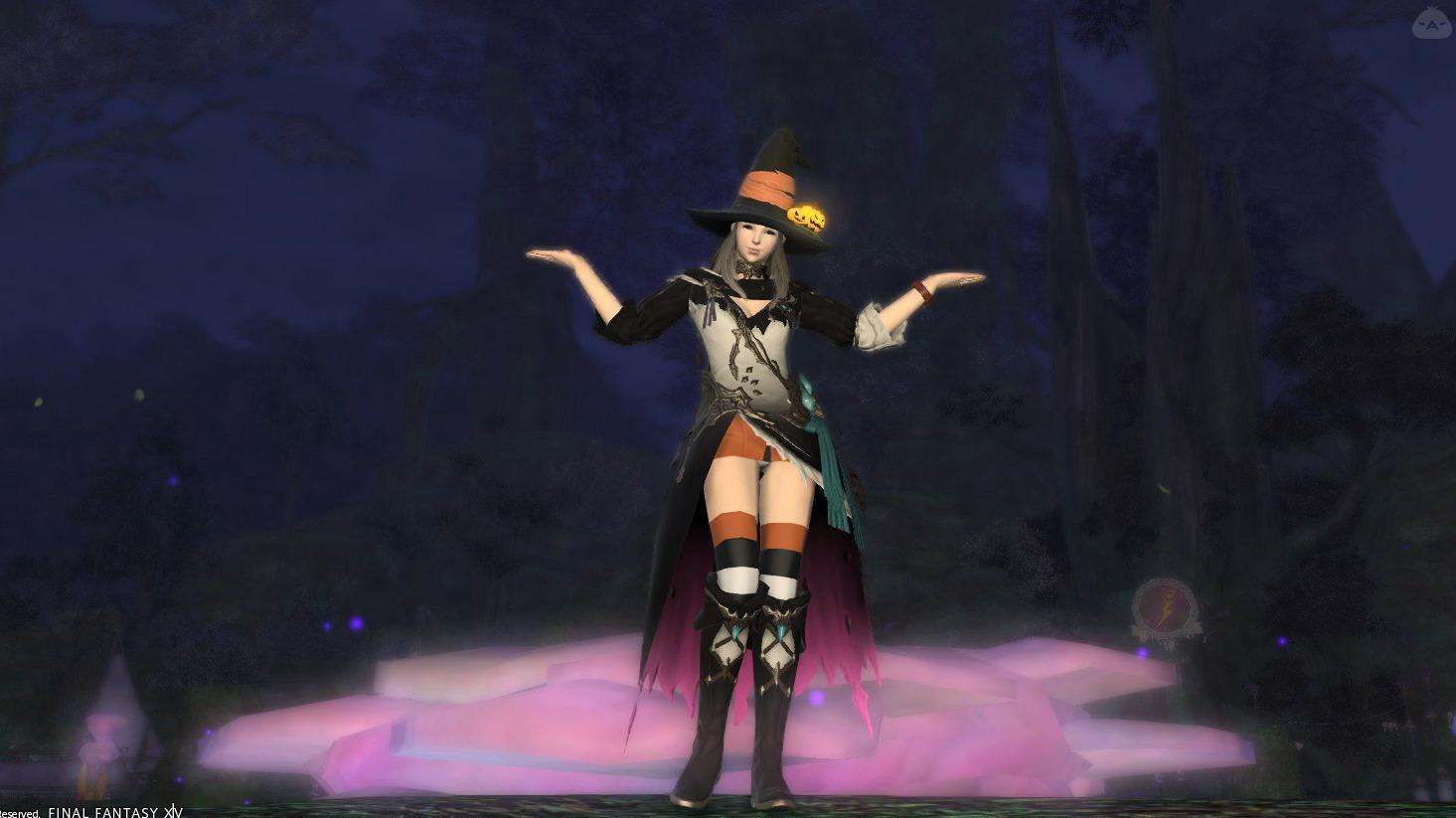 詩人で魔女っ子スタイル!
