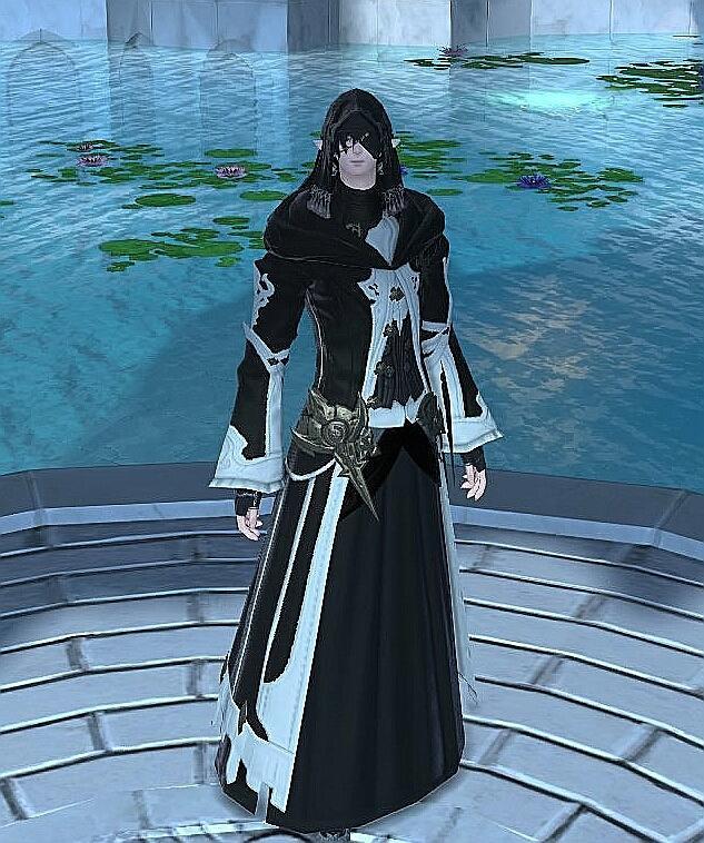 黒魔道士の花嫁衣装