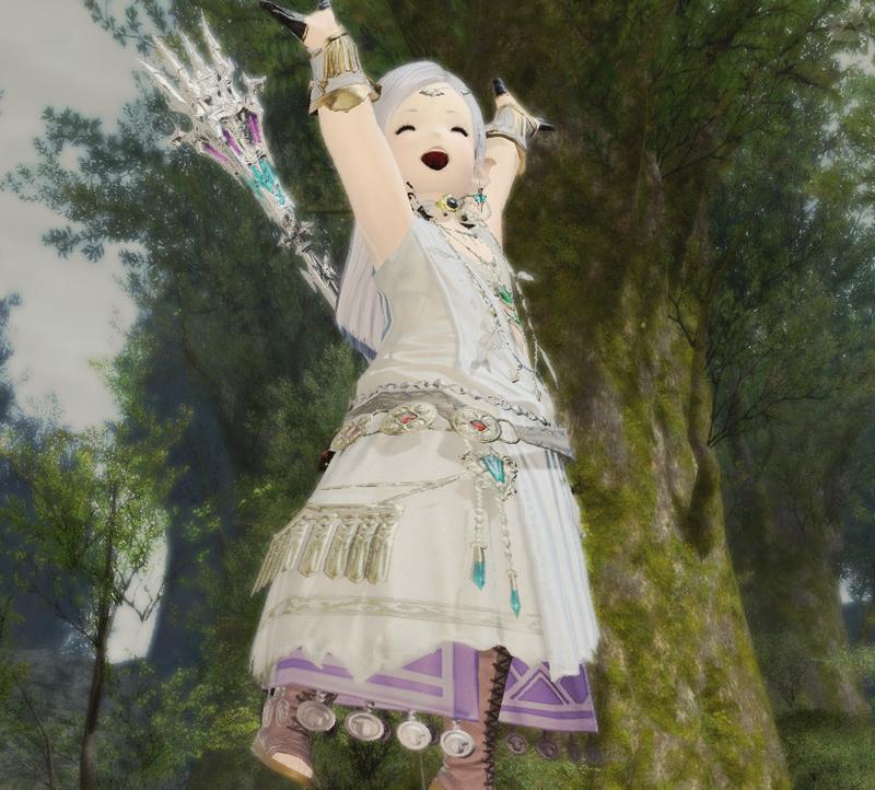 森の妖精みたいなの