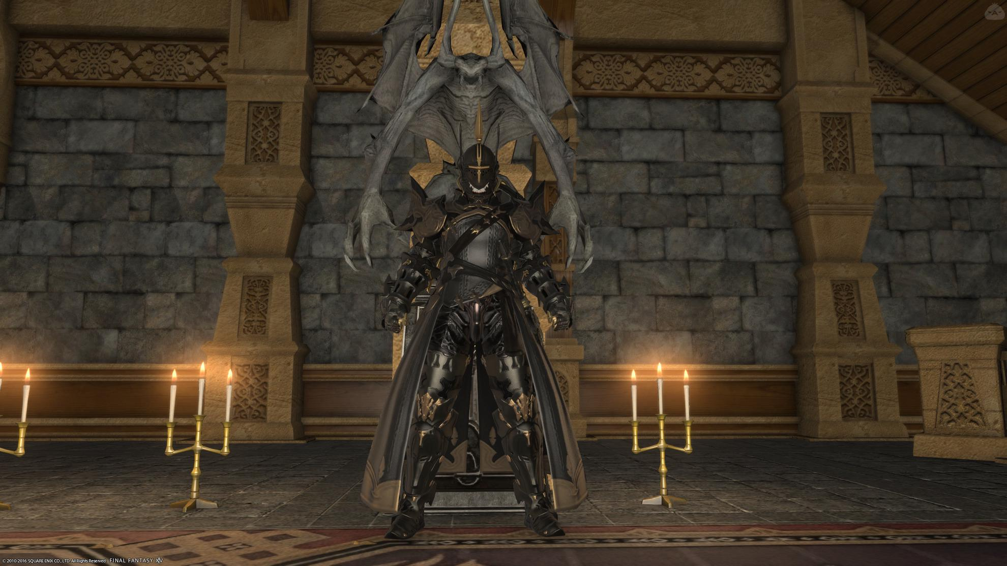 不滅隊の黒騎士