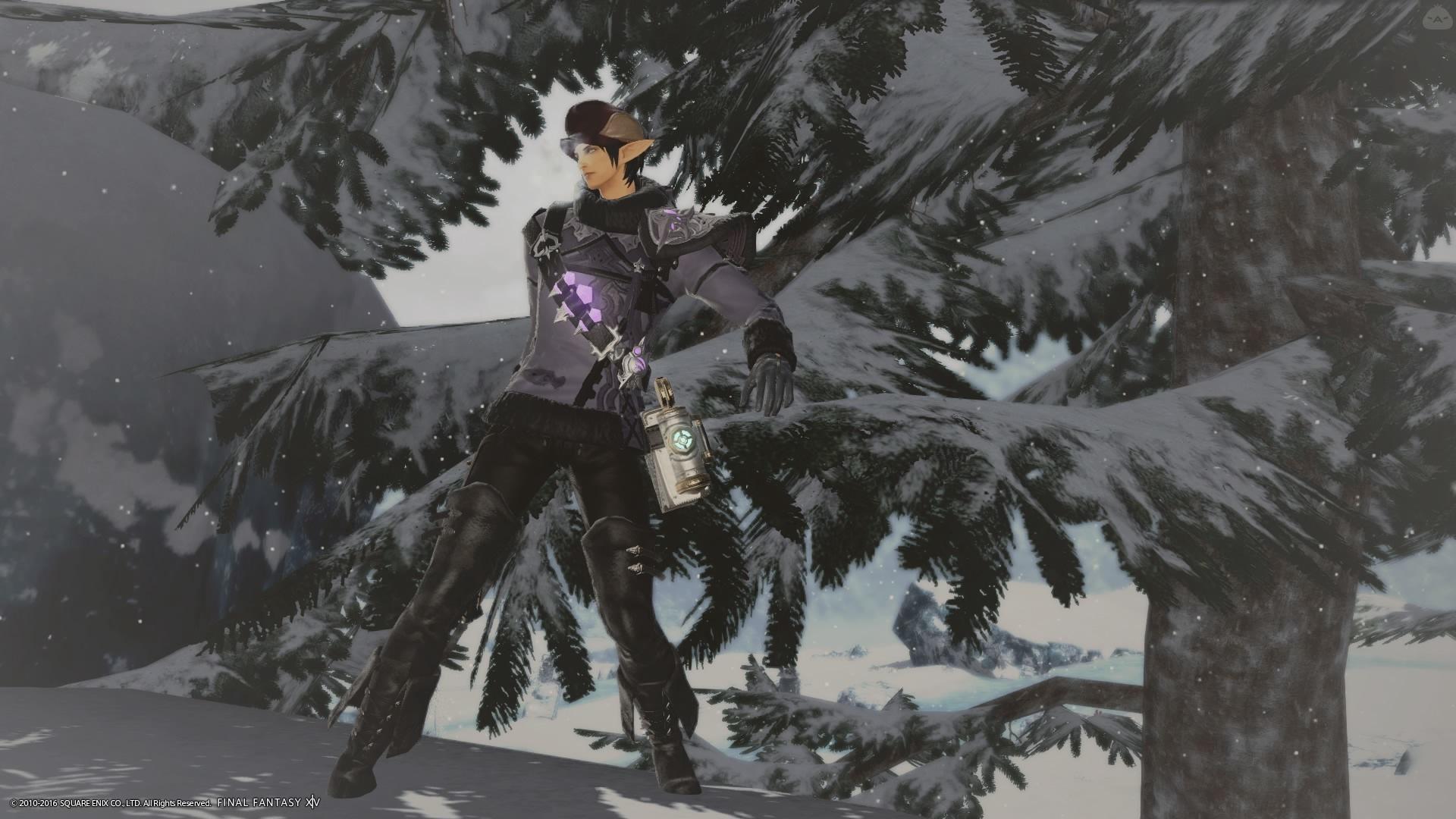 雪国のハンター