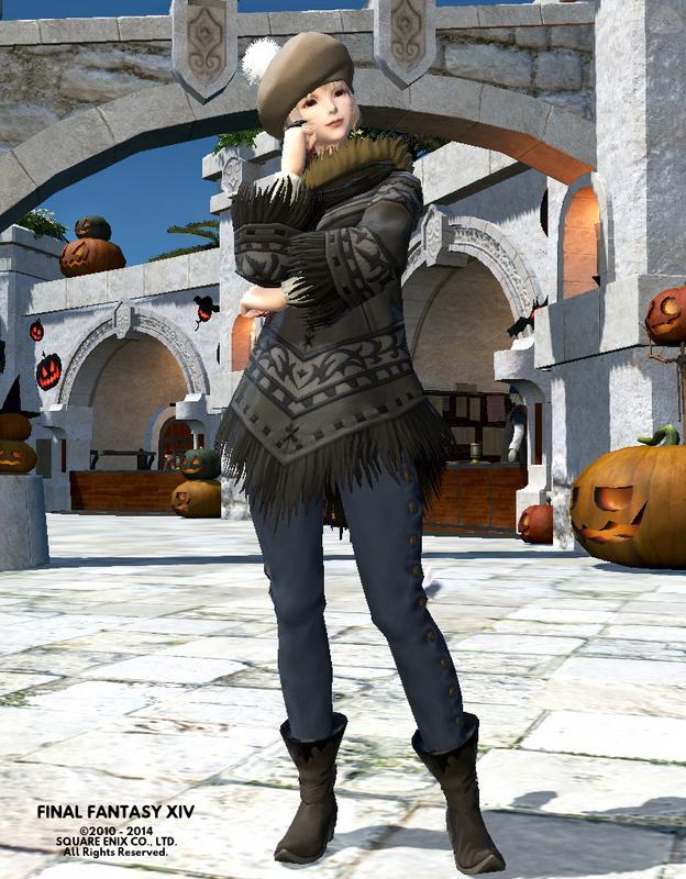 ラフな秋ファッション