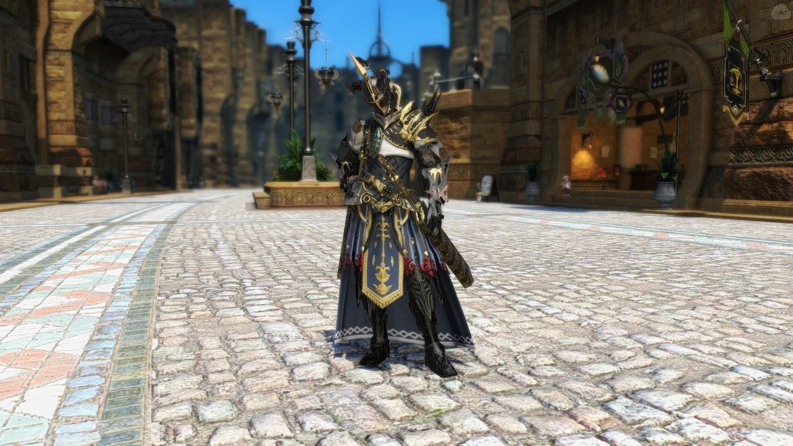 双刃の老騎士