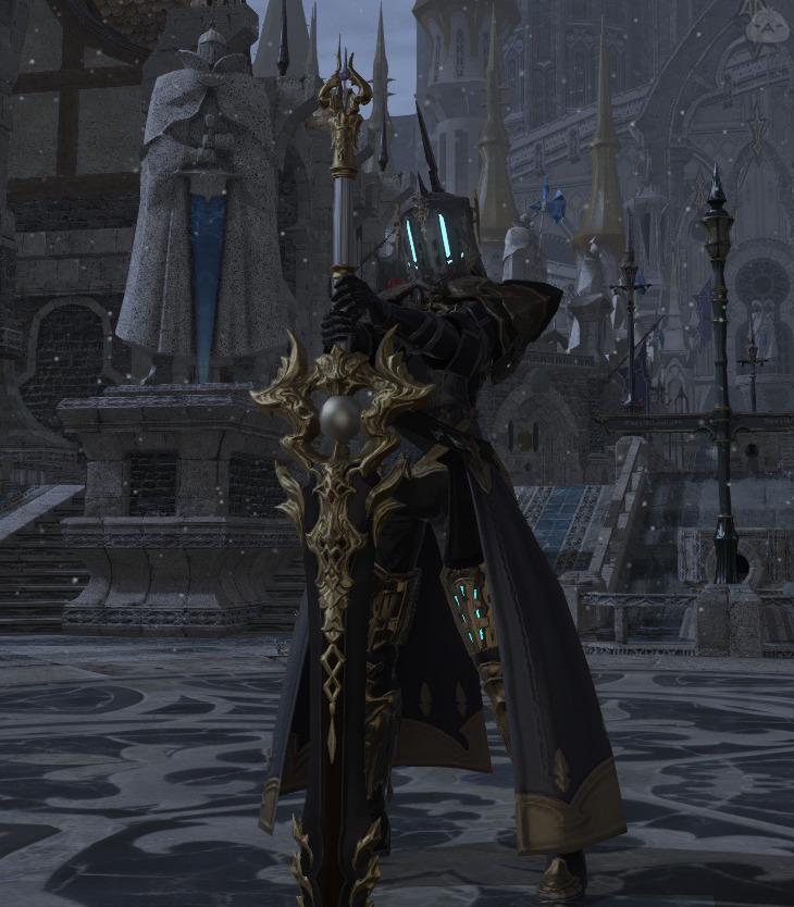 バケツの暗黒騎士