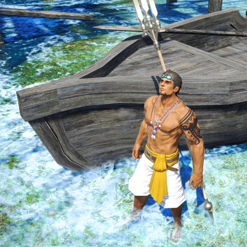 離島の漁師