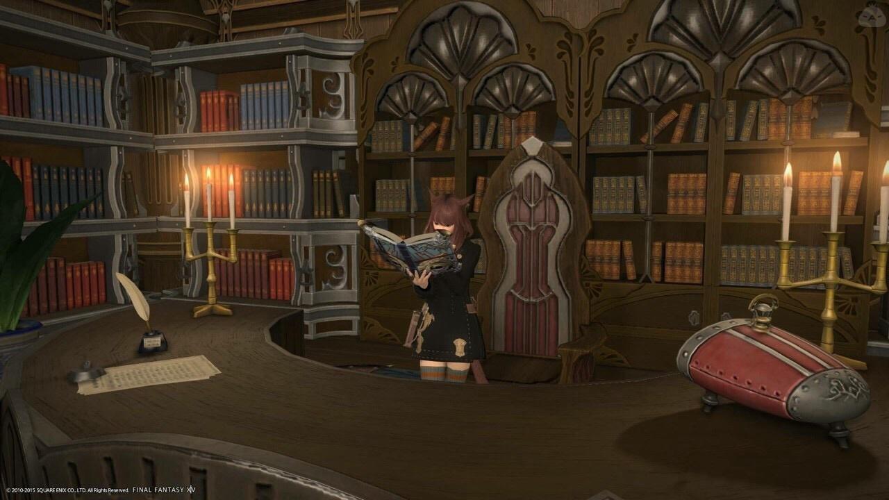 図書館が似合う!