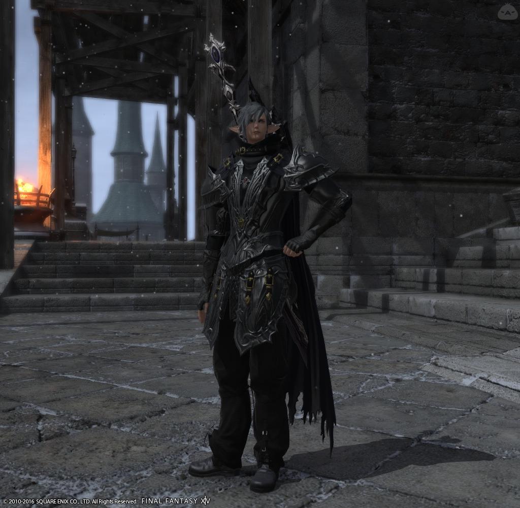 軽装の両手剣士