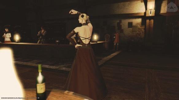 イシュガルド夜の踊り子