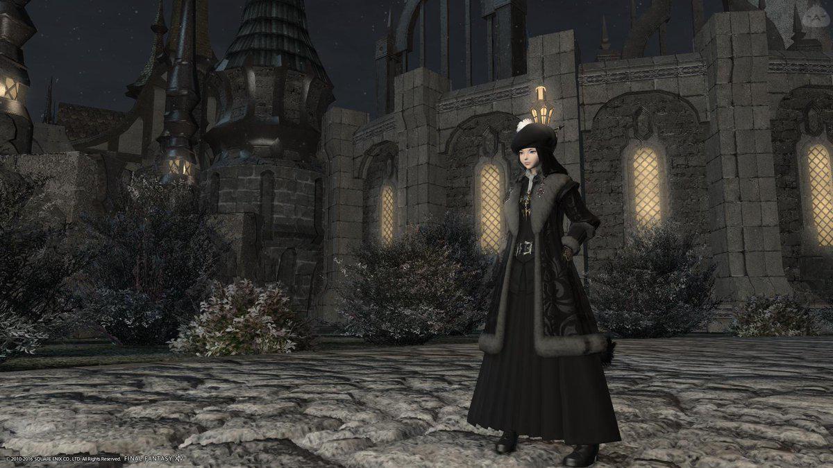 冬着の占星術士