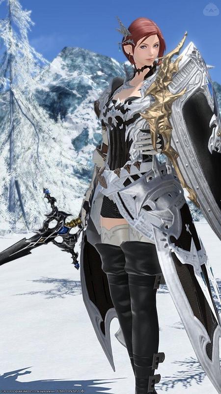 白銀の騎士!