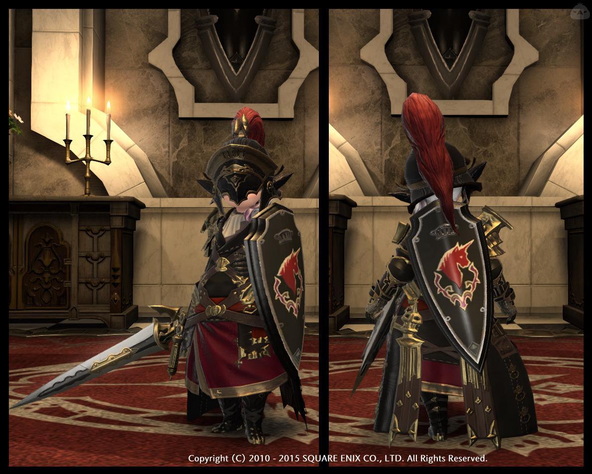 友よ、イイ騎士盾だな!
