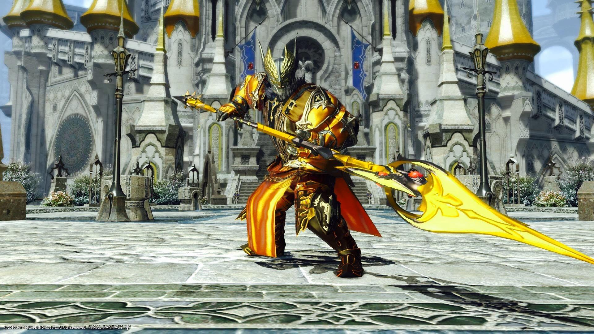 Golden Dragon Knight