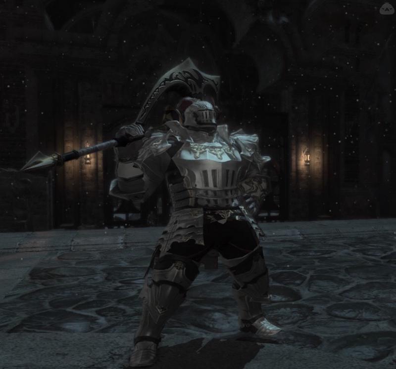 白銀騎士(斧)