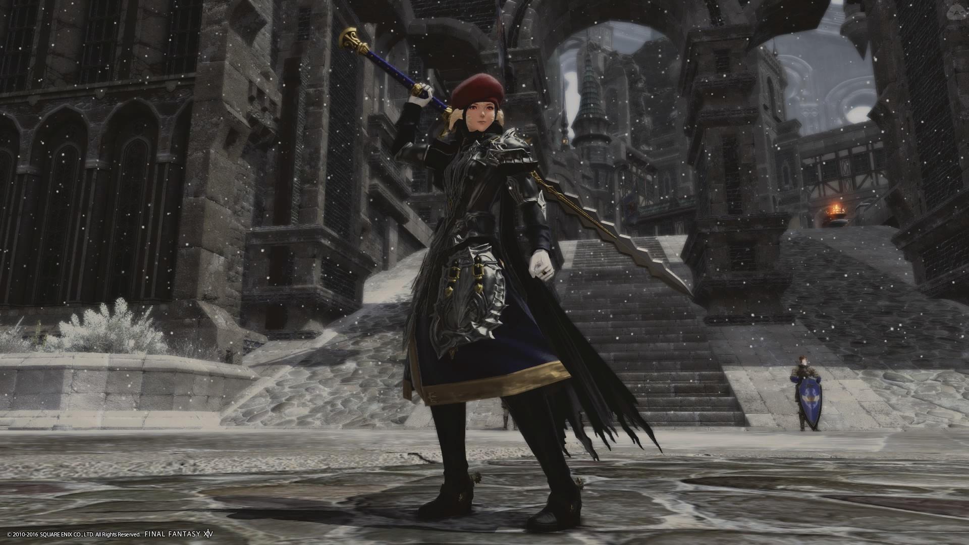 イシュガルドの守護隊長