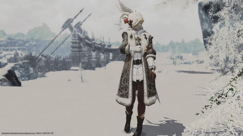 イシュガルドの冬は寒い
