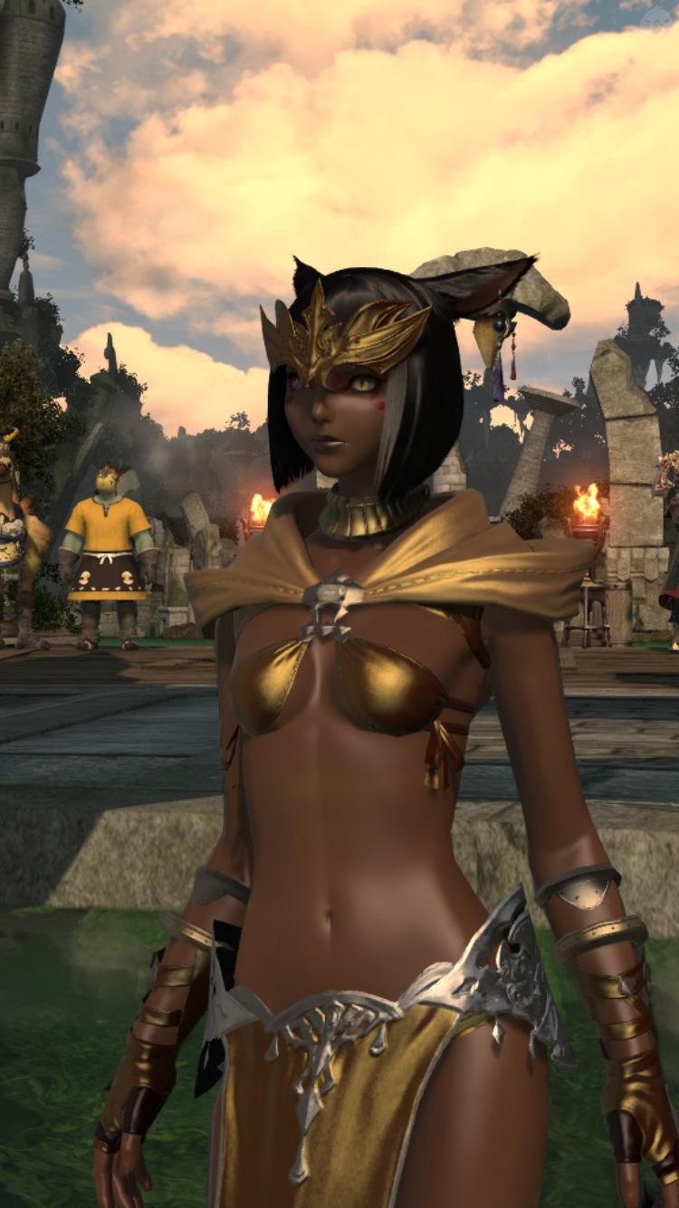 とある砂漠の褐色王女