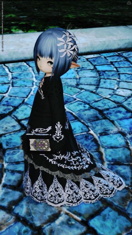 黒い花嫁衣装