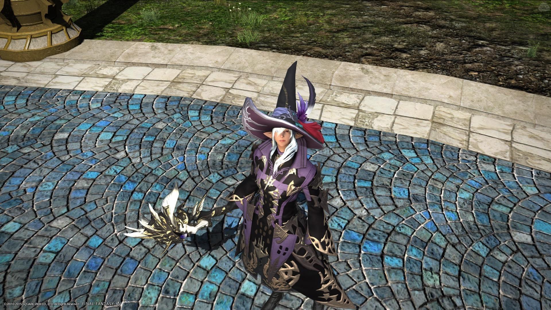 Violet wizard