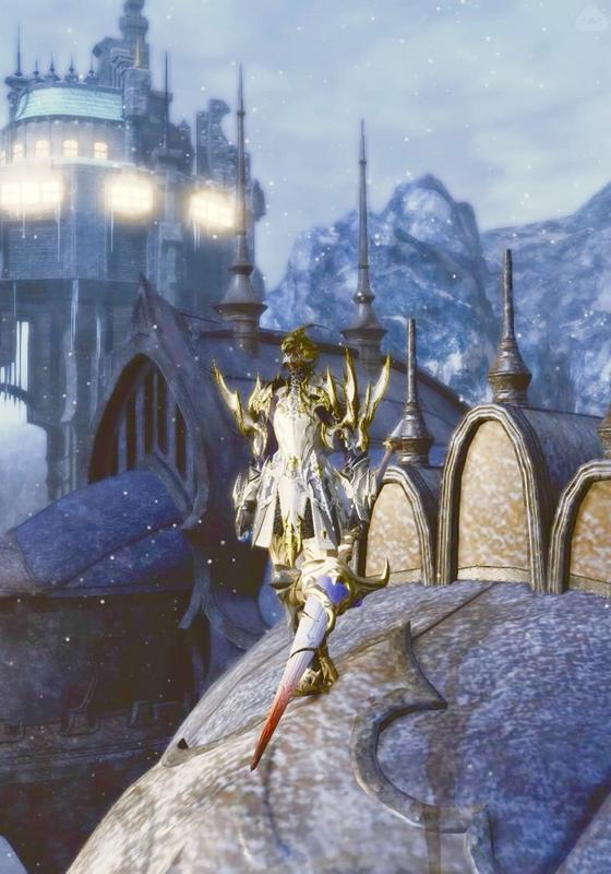 白銀の竜騎士