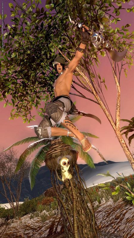 ジャングルと猿は友達