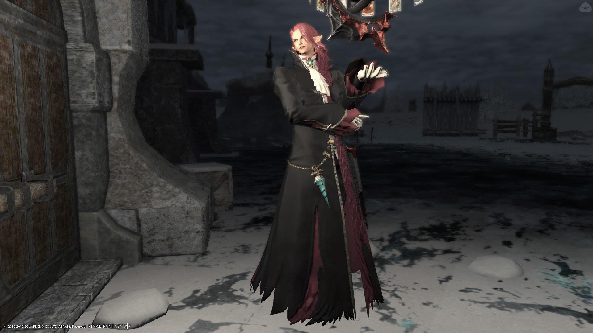 某吸血鬼伯爵風